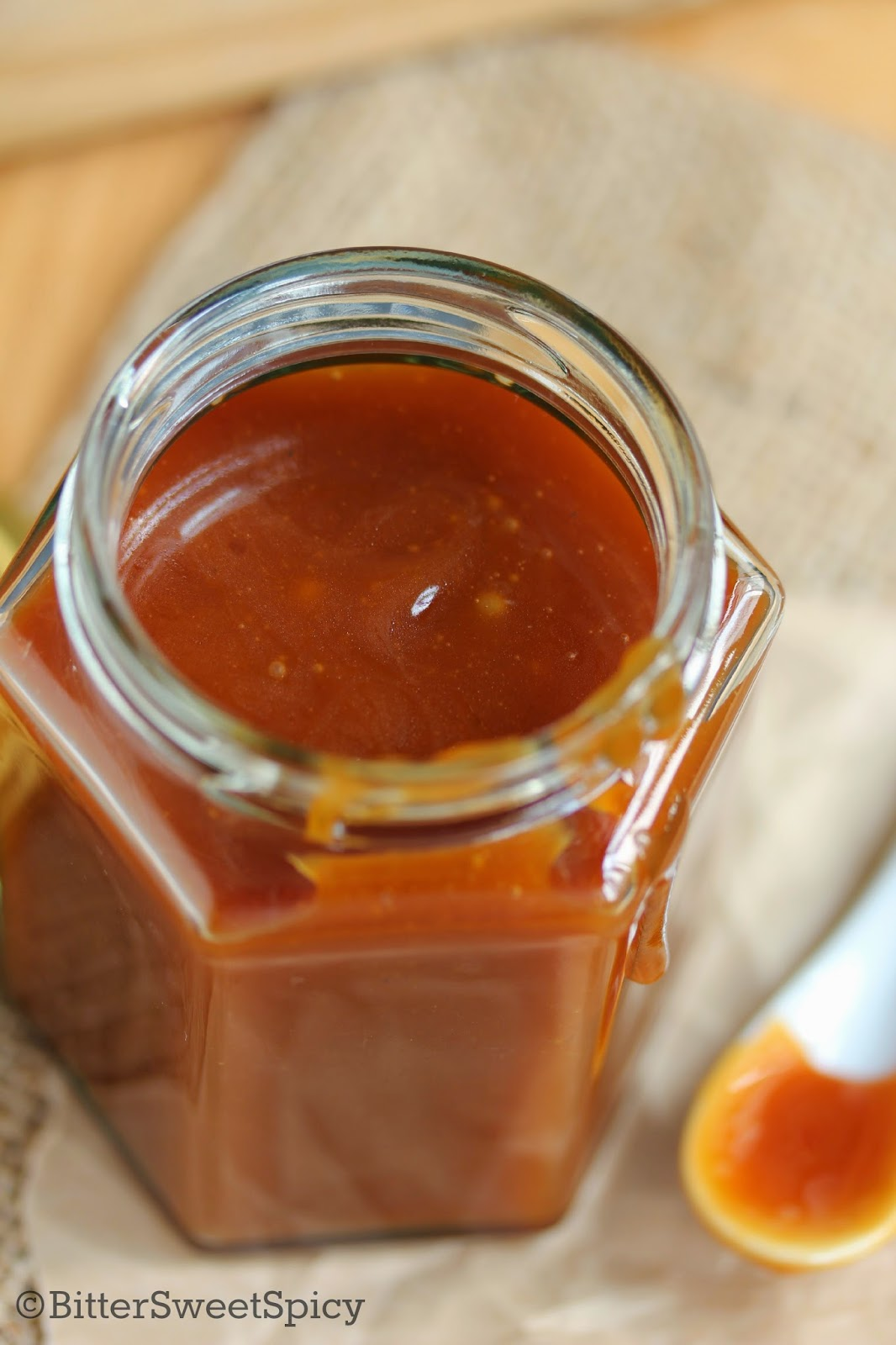 Salted Caramel Sauce @ BitterSweetSpicy