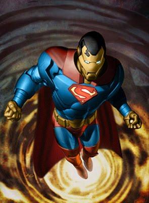 Siskoid's Blog of Geekery: Reign of the Supermen #208: Iron Superman