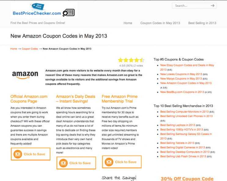 Amazon Memorial Day Coupon Codes