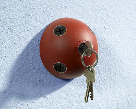 Llavero original para pared de casa