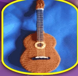 Amigurumi Guitarra Patron : Crochet en 80 labores: Crochet en do mayor
