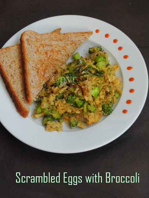 Scrambled Eggs with Broccoli