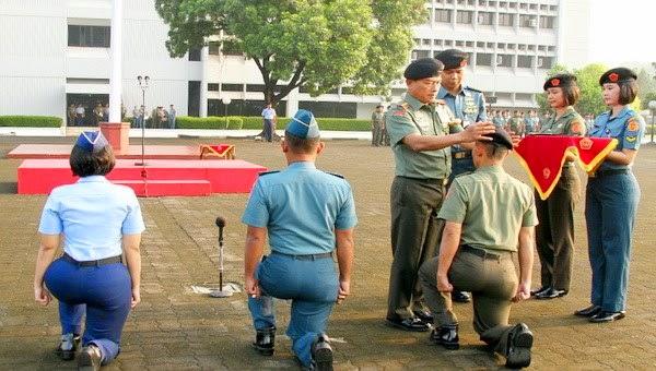 Panglima TNI Buat Baret Hitam untuk Satukan Tri Matra