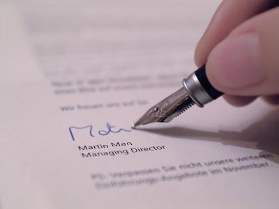contoh application letter secretary