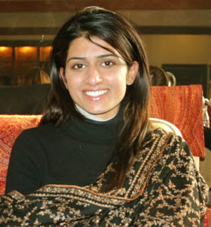 Beautiful Hina Rabbani Khar, Foreign Minister of Pakistan ...