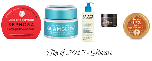 Top of 2015 - Skincare