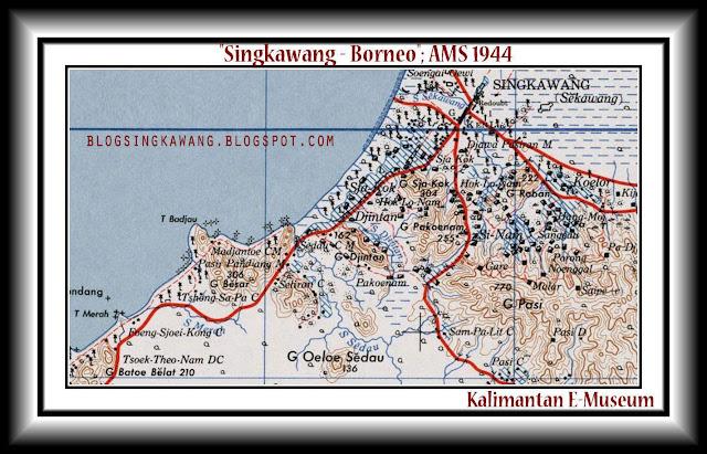 Foto jadul Peta Kota Singkawang