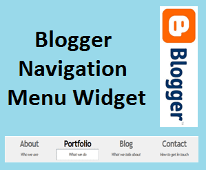 Yeni Blogger Navigation Menu Widget