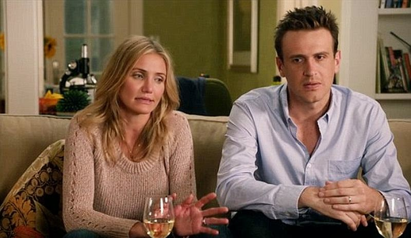 Yap, the unfortunately tragedy who will be released in the US Cinemas on Friday, July 25, 2014 and UK on Friday, September 5, 2014 are left the big screaming and shuts the notebook as fast as the 34-year-old actor, Jason Segel and Cameron Diaz can do.