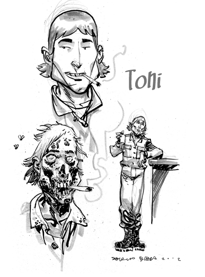 Ilustraciones sueltas chulas encontradas por el internete - Página 4 Bocetotoni