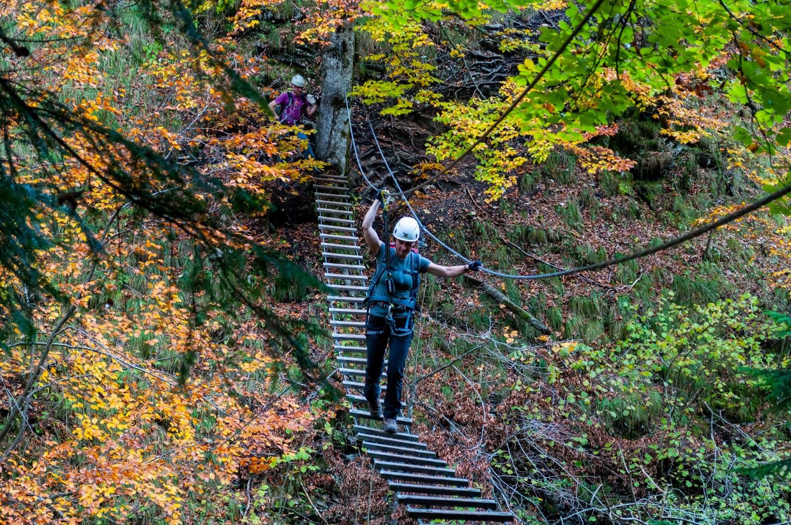 Klettersteig Postalm : Postalmklamm klettersteig d f postalm m salzkammergut