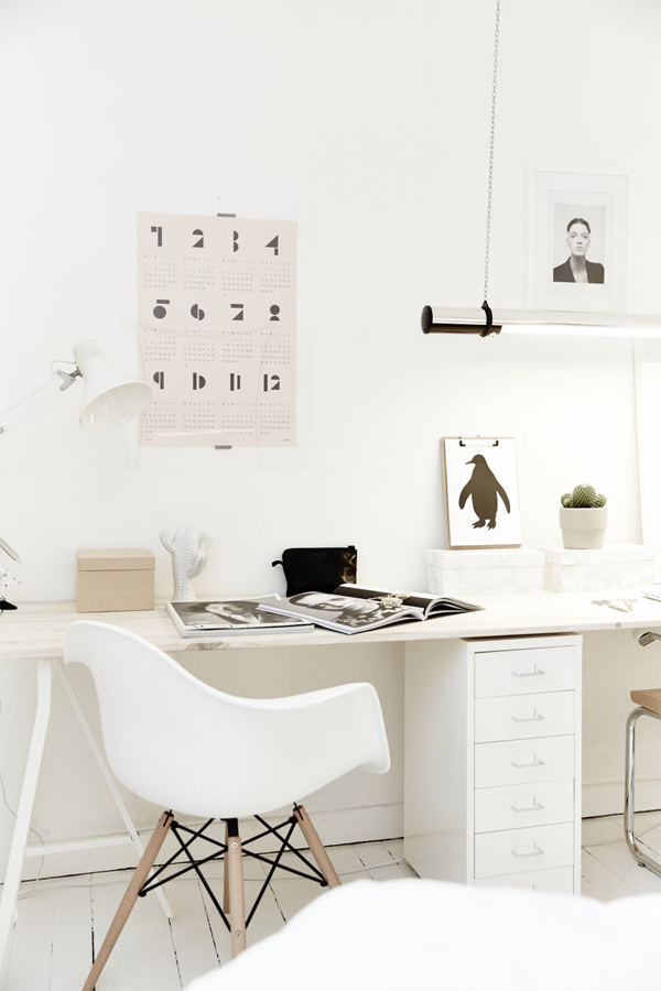 Life as a moodboard black and white scandinavian home