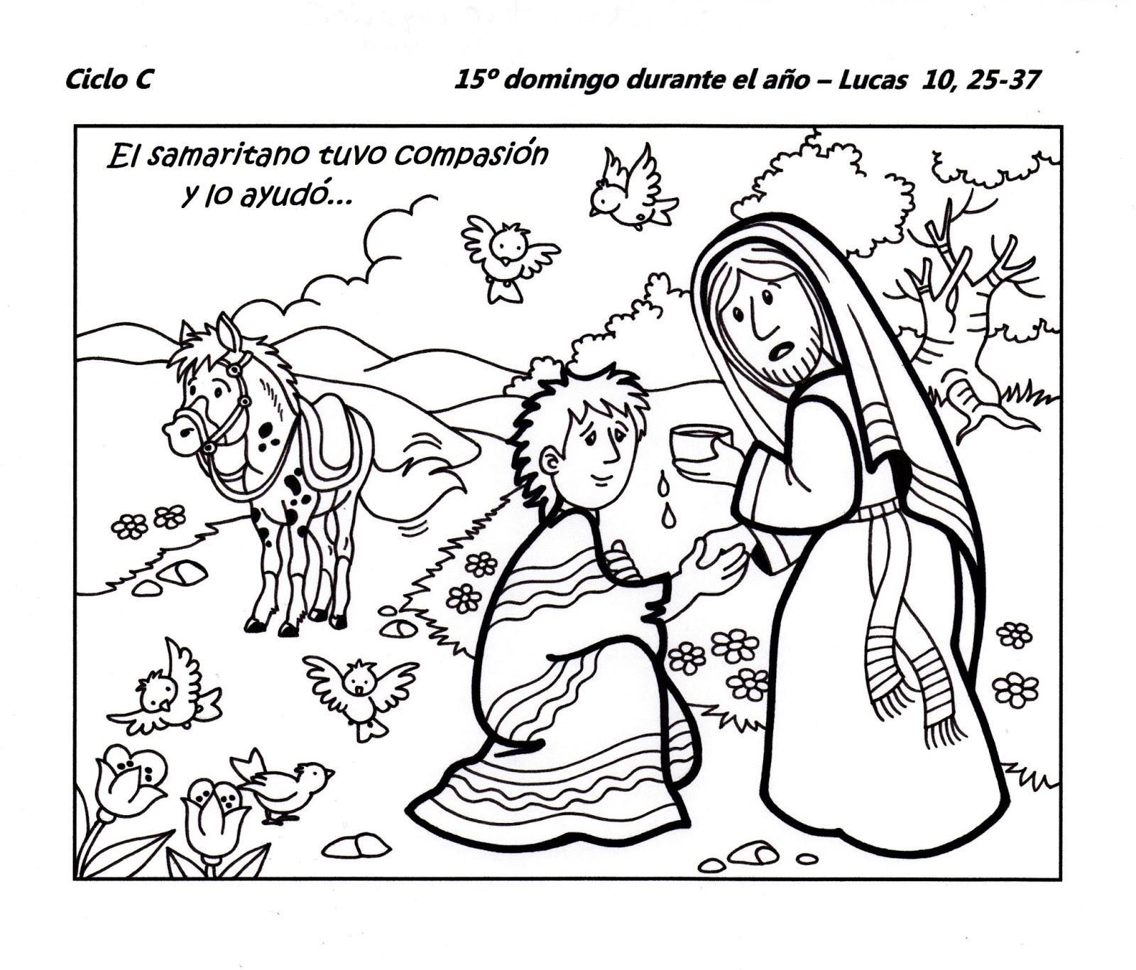 El Rincón de las Melli: 15º Domingo durante el año - CICLO C