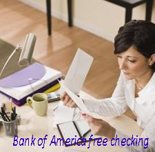 Bank of America free checking