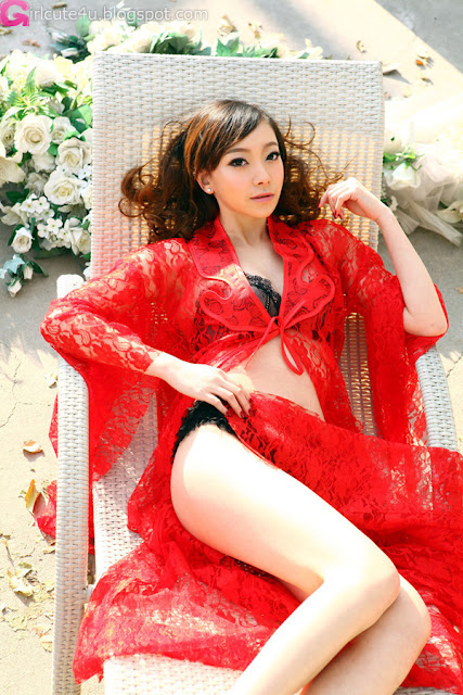 2 Charming red-very cute asian girl-girlcute4u.blogspot.com