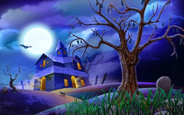 hình ảnh nền halloween cho máy tính