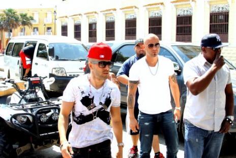 Wisin y Yandel graban 'Tu Olor' en Catagena
