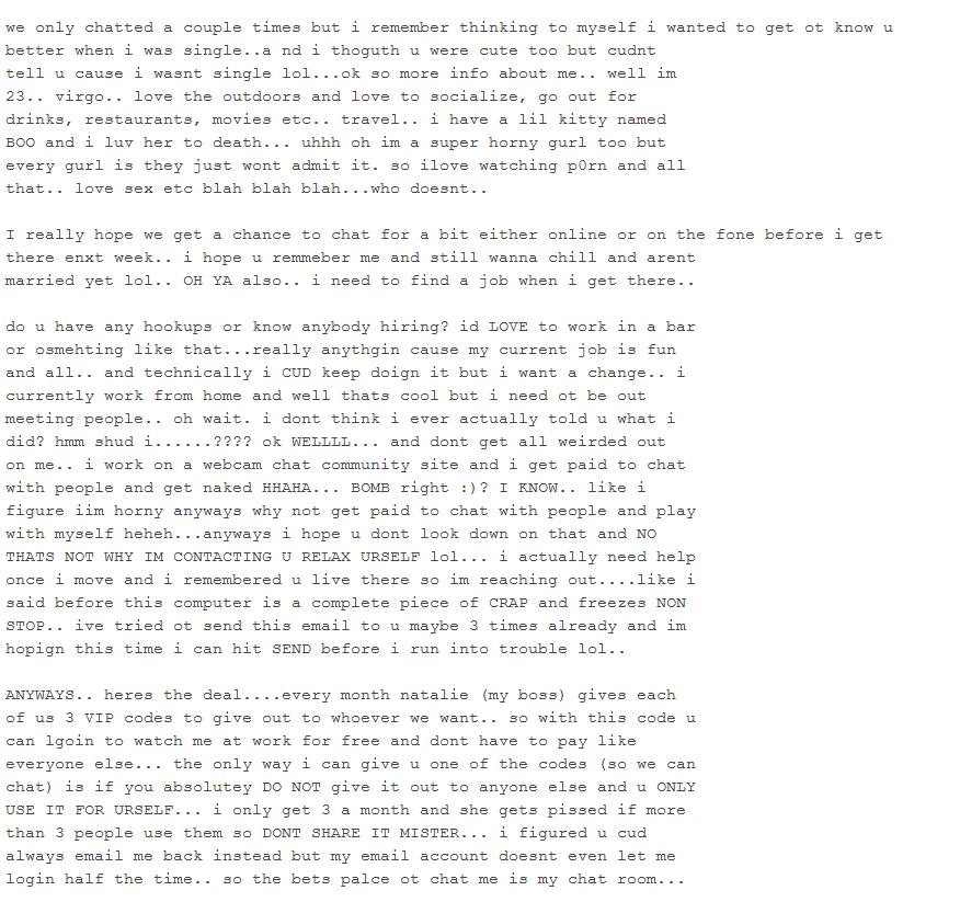 Answering Spam-Mails #1 | Sturmflut93