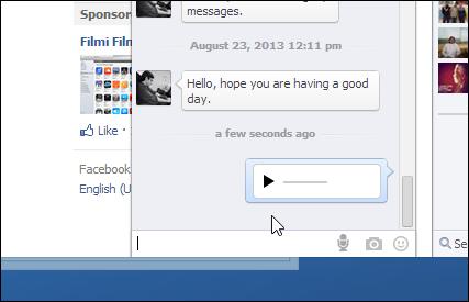 طريقة الدردشة بالصوت على الفيسبوك |2015|