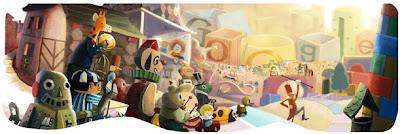 Selamat Natal dari Google Dan Dangstars Blog 2012