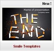 Modèles PPT gratuits Médecine Santé cigarettes fumer tabagisme arret tabac