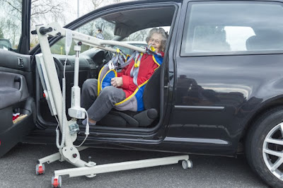 Dolphin Lifts compact and portable travel hoist