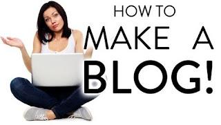 Cara membuat blog dengan mudah