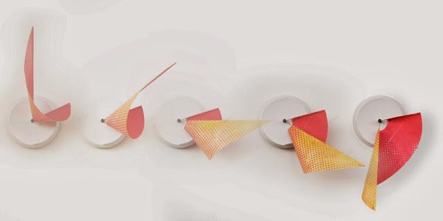 Manifold Clock la hora en 3D