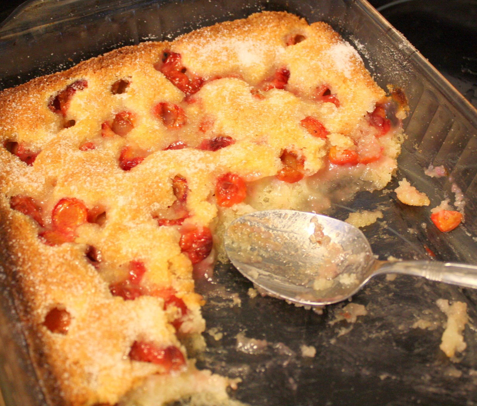 it's just Laine: Fresh Cherry Cobbler