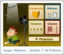 http://juegoseducativosonlinegratis.blogspot.com/2014/04/juegos-numeros-accion-1-de-primaria.html
