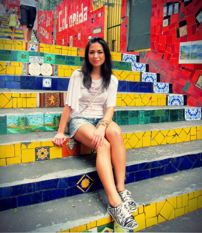 escadaria selaron, santa lolla tenis, shoes, animal print, streetstyle, fashion, trend, tendencia estampa animal