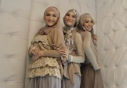 Tips memakai jilbab sesuai bentuk wajah
