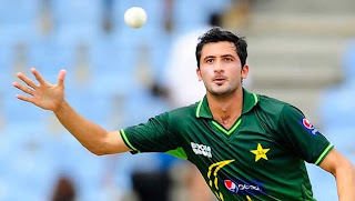 junaid khan green shirt