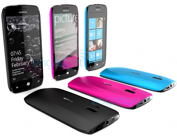 Prototipe Nokia Windows Phone 7