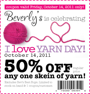 I Love Yarn Coupon!