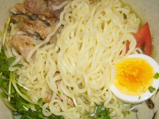 【サンヨー食品】サッポロ一番 冷やしぶっかけ塩らーめん 青しそ仕上げ