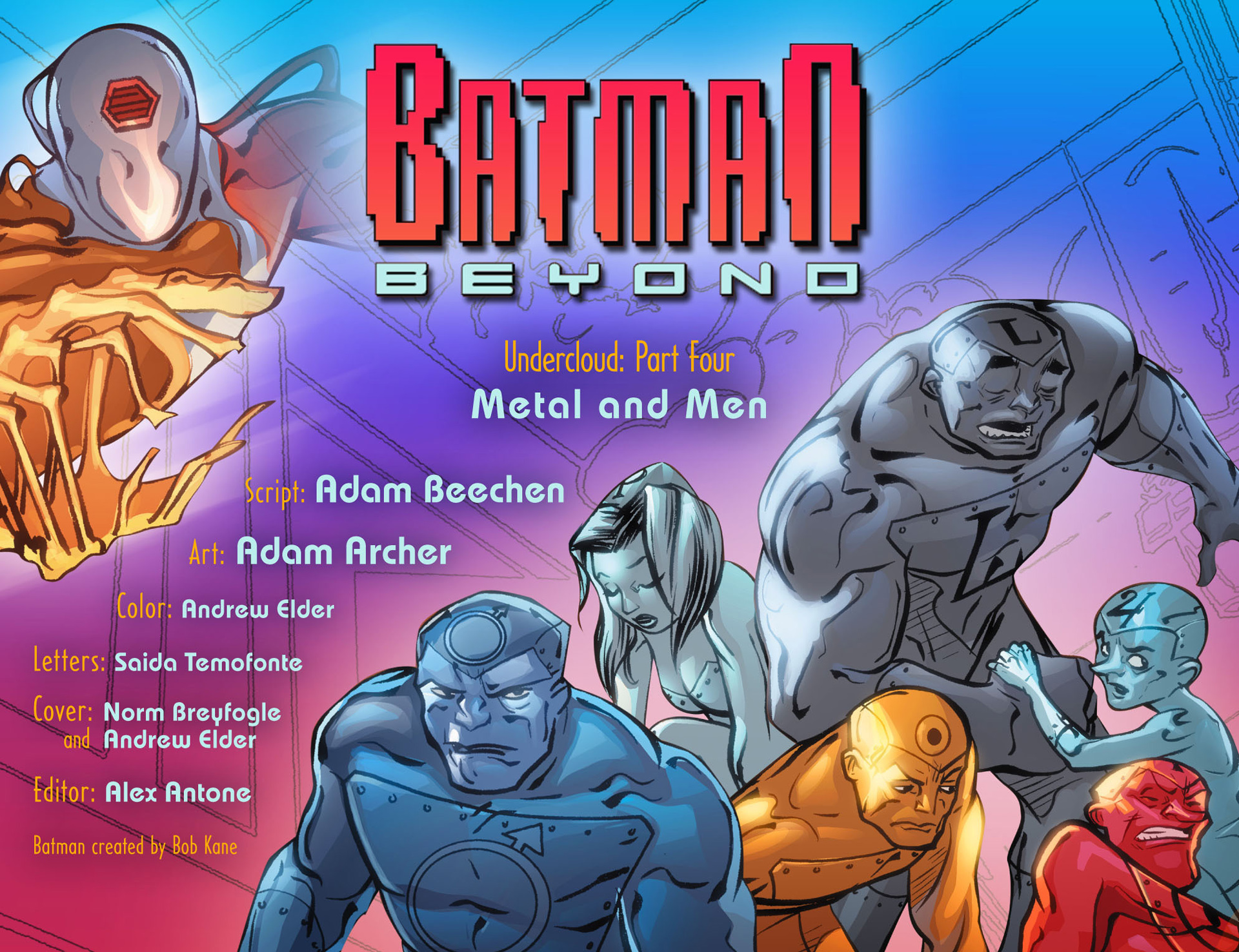 Batman Beyond (2012) Issue #24 #24 - English 2