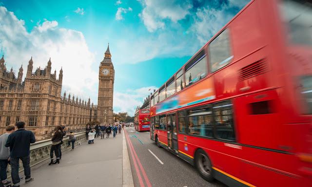 Londra bus ecologici