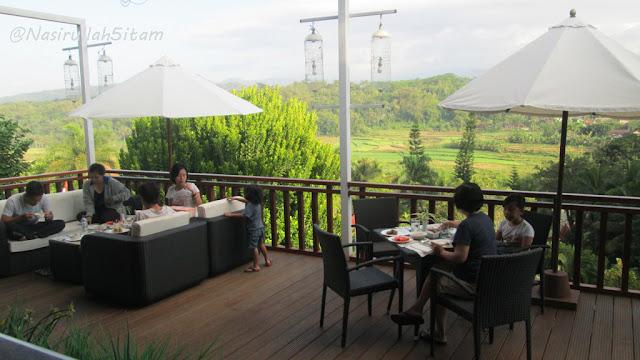 Restoran di Hotel Puri Asri Magelang