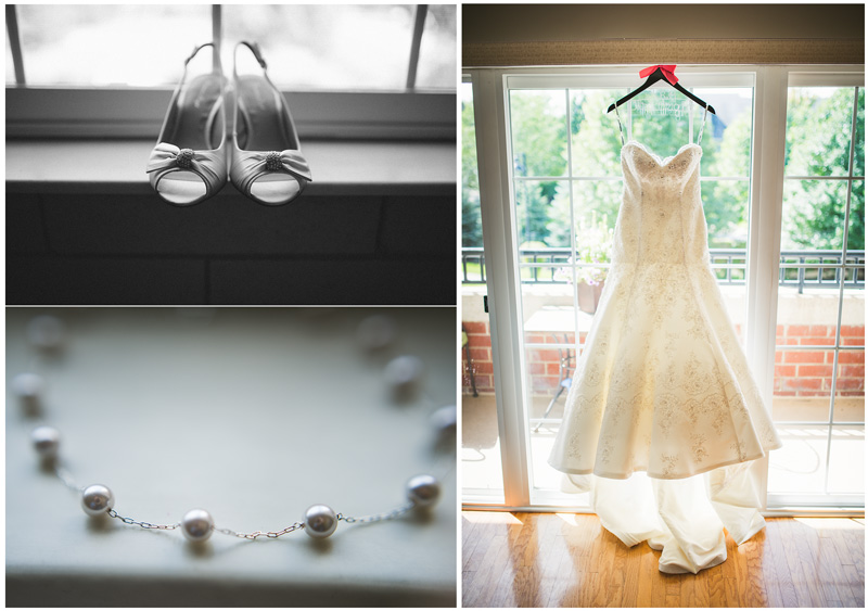 Chicago Wedding Dress Details Photography