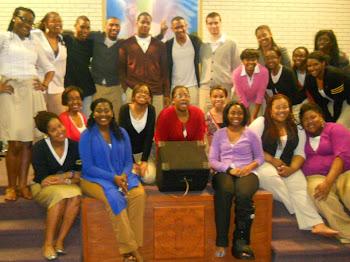 Elon Gospel Choir Tour 2012