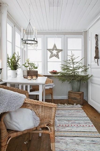 navidad decoracion vintage