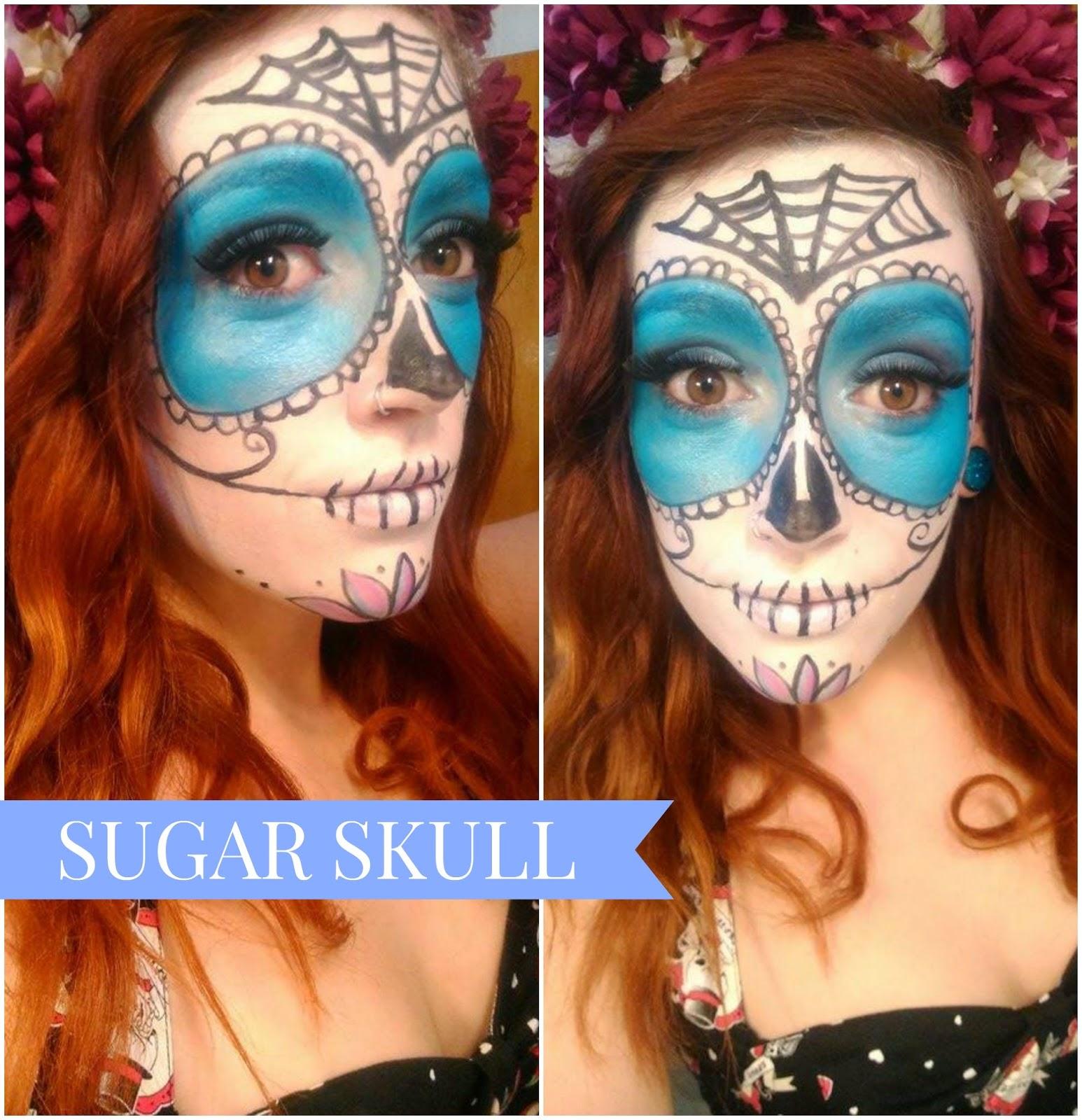 Maquillaje dia de los muertos cuidar de tu belleza es - Maquillage dia de los muertos ...