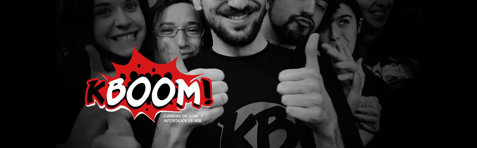 KBOOM! Jornadas Culturales de Cómic y Autoedición de BCN