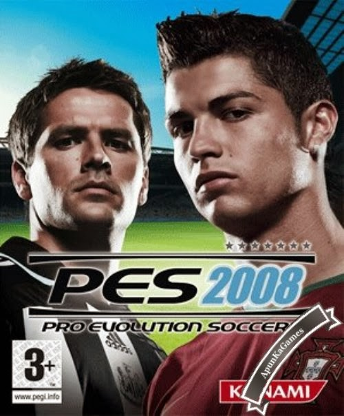 Pro Evolution Soccer 2008 Cover, Poster