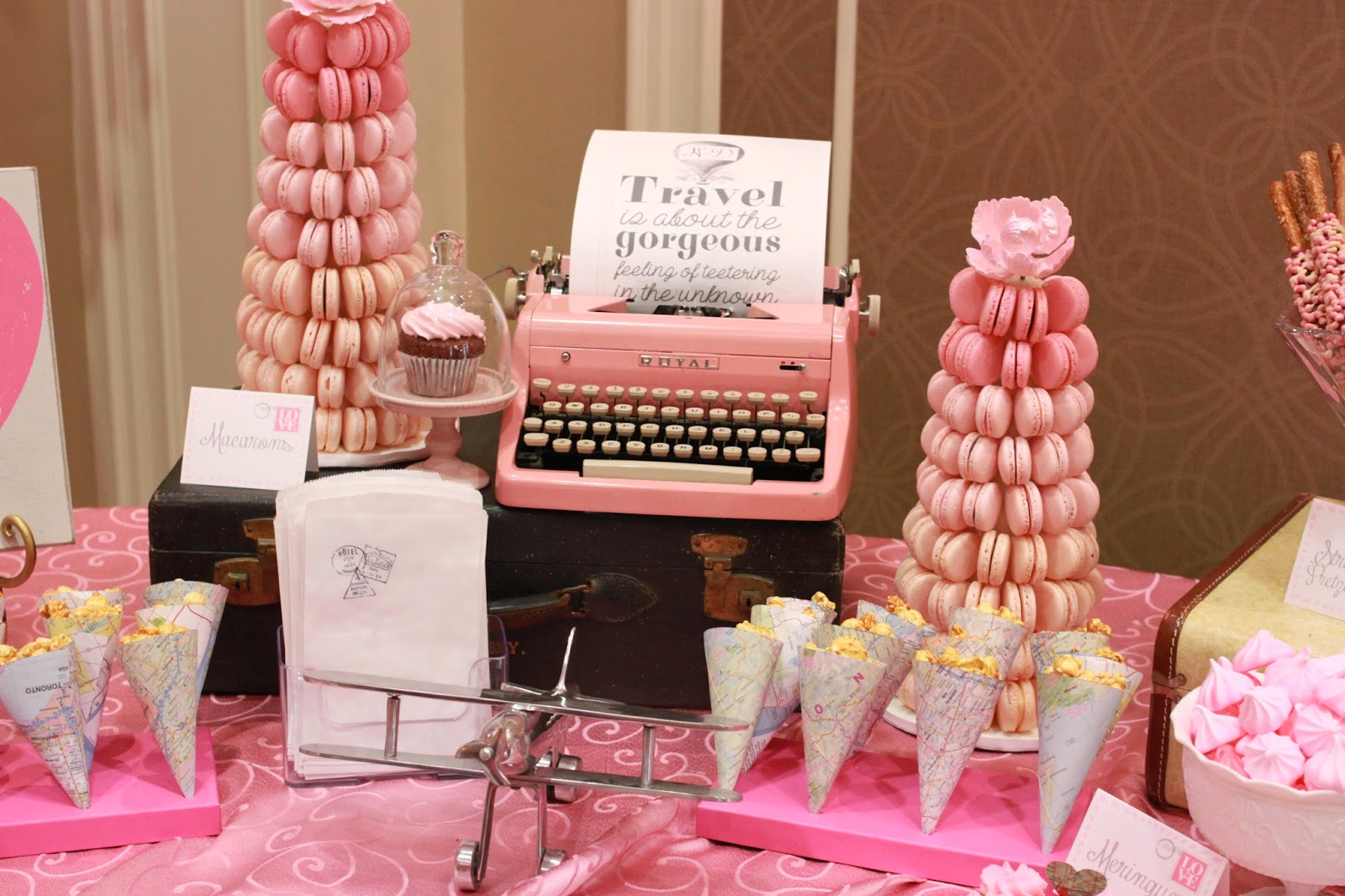 niagara wedding planner a divine affair pink bridal shower