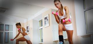 Tips Membangun Otot Wanita