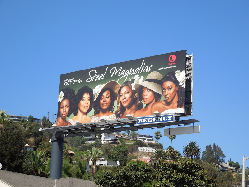Steel Magnolias 2012 remake billboard
