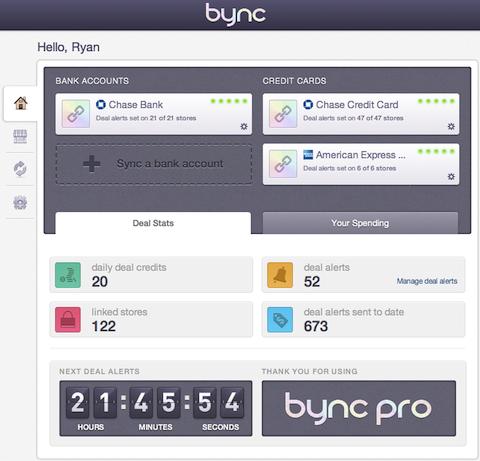 Promotions sur le site Bync