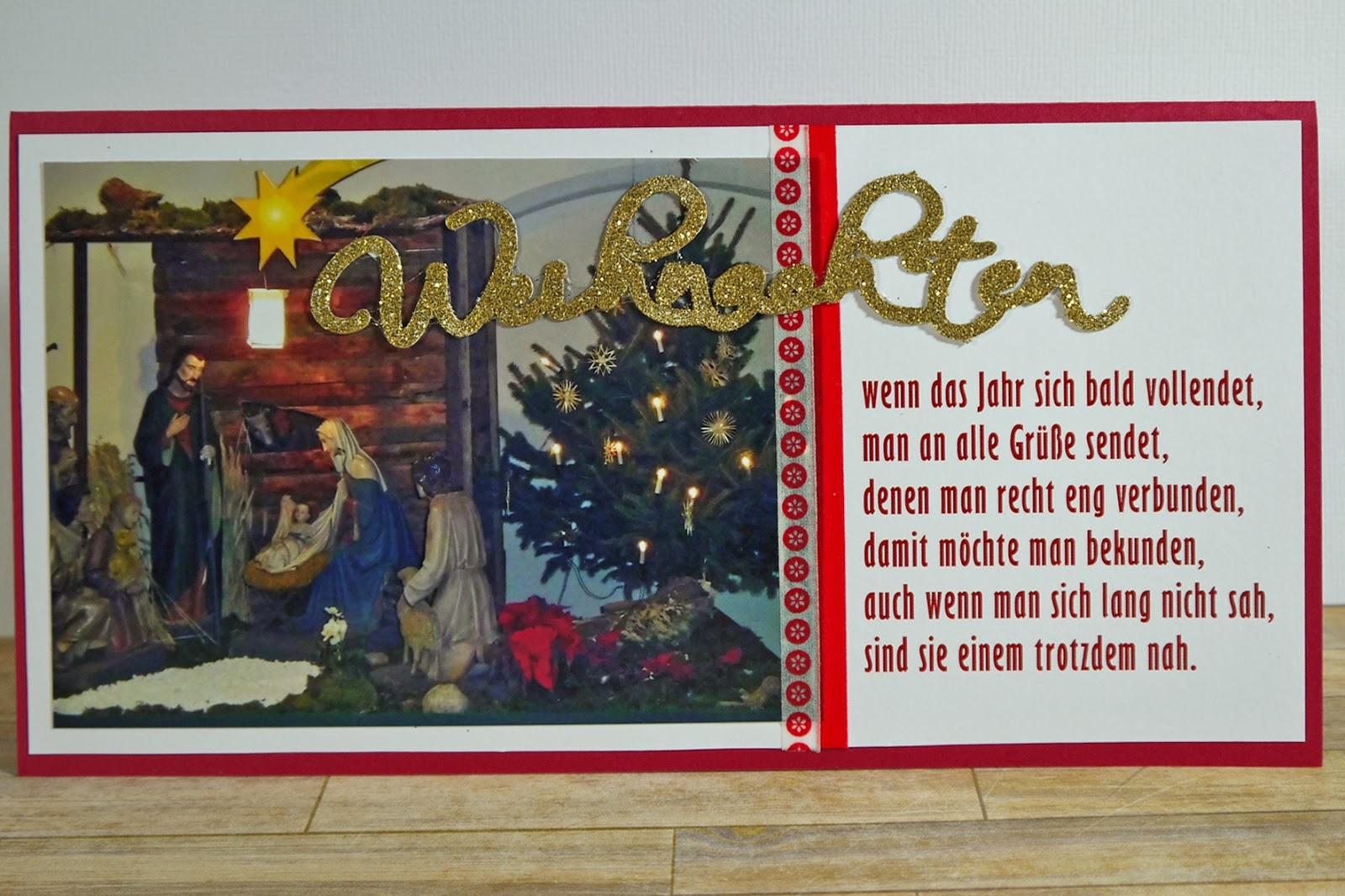 scraphase weihnachtskarte glitzernde weihnachten. Black Bedroom Furniture Sets. Home Design Ideas
